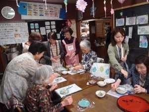 麻生区地域コミュニティ実態調査:三井まるカフェ訪問(かわさき市民後見をすすめる会)