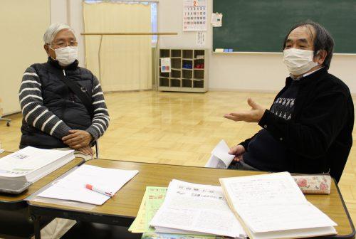 小川清代表と杉田墾生さん
